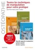 Jean-Pierre Barral et Alain Croibier - Toutes les techniques de manipulation pour votre pratique - Pack de 3 tomes.