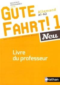 Deedr.fr Allemand A1-A2 Gute Fahrt! 1 Neu - Livre du professeur Image
