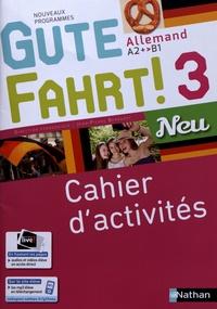Téléchargement ebook iphone Allemand A2+>B1 Gute Fahrt! 3 Neu  - Cahier d'activités