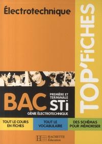 Jean-Pierre Bisiaux - Electrotechnique 1re et Tle STI génie électronique.