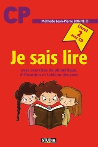 Jean-Pierre Bonne - Je sais lire - Livret 2. 1 CD audio