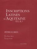Jean-Pierre Bost et Georges Fabre - Inscriptions latines d'Aquitaine (ILA) - Pétrucores.