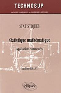 Statistique mathématique - Applications commentés.pdf