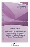 Jean-Pierre Boutinet et Solveig Fernagu Oudet - Savoirs N° 46 : Les écoles de la deuxième chance, une formation au lien et à la différence - Second Chance Schools.