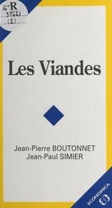 Jean-Pierre Boutonnet - Les viandes.
