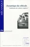 Jean-Pierre Brossard - Dynamique du véhicule - Modélisation des systèmes complexes.