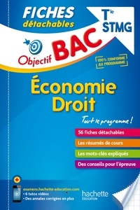 Jean-Pierre Broutin - Economie droit Tle STMG.