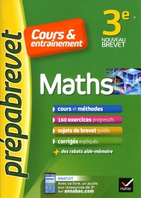 Jean-Pierre Bureau et Marie-Caroline Bureau - Maths 3e.