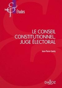 Deedr.fr Le Conseil constitutionnel, juge électoral Image