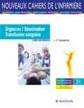 Jean-Pierre Carpentier et Michel Aubert - Urgences/Réanimation/Transfusion sanguine - Soins infirmiers.
