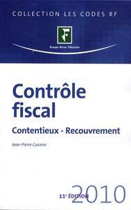Jean-Pierre Casimir - Contrôle fiscal - Contentieux - Recouvrement.