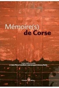 Jean-Pierre Castellani - Mémoire(s) de Corse.