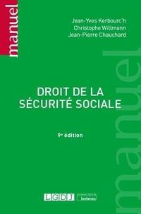 Jean-Pierre Chauchard et Christophe Willmann - Droit de la sécurité sociale.