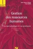 Jean-Pierre Citeau et Yvan Barel - Gestion des ressources humaines - Principes généraux et cas pratiques.