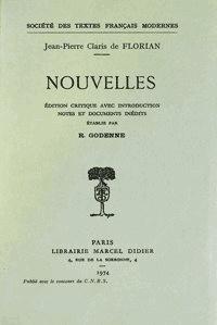 Jean-pierre claris de Florian - Nouvelles.