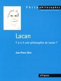 Jean-Pierre Cléro - Lacan - Y a-t-il une philosophie de Lacan ?.