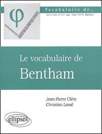 Le vocabulaire de Bentham.pdf