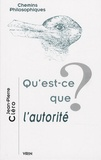 Jean-Pierre Cléro - Qu'est-ce que l'autorité ?.