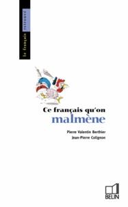Téléchargement d'ebook pdf gratuit Ce français qu'on malmène  en francais 9782701111544