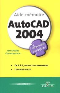 Jean-Pierre Couwenbergh - AutoCAD 2004.
