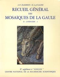 Jean-Pierre Darmon et Henri Lavagne - Recueil général des mosaïques de la Gaule - Volume 2, Province de Lyonnaise, Tome 3, Partie centrale.