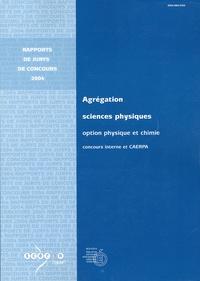 Jean-Pierre Dedonder - Agrégation Sciences physiques, Option physique et chimie - Concours interne et CAERPA.