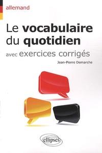 Blackclover.fr Le vocabulaire du quotidien avec exercices corrigés - Allemand Image