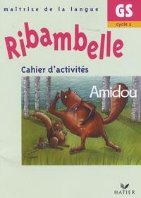 Jean-Pierre Demeulemeester et Nadine Demeulemeester - Cahier d'activités GS/Cycle 2 - Amidou.