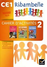 Jean-Pierre Demeulemeester et Nadine Demeulemeester - Français CE1 Ribambelle Série jaune - Pack Cahier d'activités 2 + Livret d'entraînement à la lecture 2.