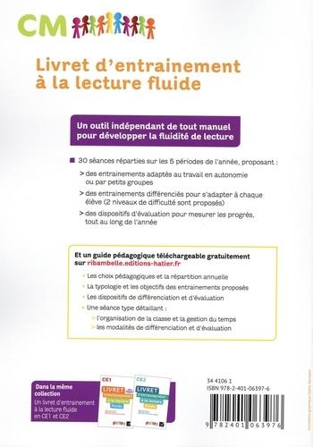Livre d'entraînement à la lecture fluide CM