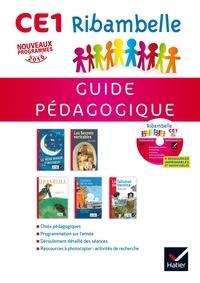 Jean-Pierre Demeulemeester et Nadine Demeulemeester - Ribambelle CE1 - Guide pédagogique. 1 CD audio