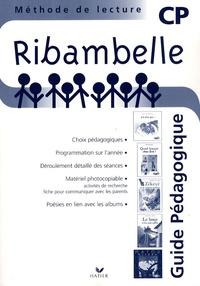 Jean-Pierre Demeulemeester - Ribambelle CP série bleue - Guide pédagogique.