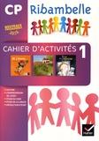 Jean-Pierre Demeulemeester et Nadine Demeulemeester - Ribambelle CP Série violette - Pack en 3 volumes : Cahier d'activité 1 ; Livret d'entraînement 1 ; Mes outils pour écrire.
