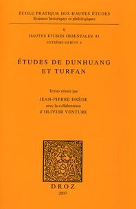 Jean-Pierre Drège - Etudes de Dunhuang et Turfan.