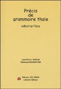 Galabria.be Précis de grammaire thaïe Image