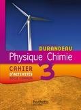 Jean-Pierre Durandeau et Paul Bramand - Physique Chimie 3e - Cahier d'activités socle commun.
