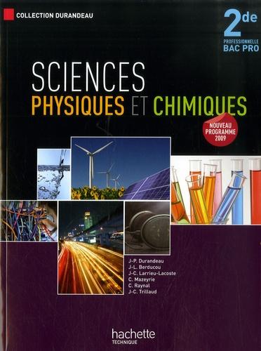 Techniques des sciences physiques, 2de - Collectif