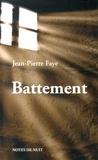 Jean-Pierre Faye - Battement.
