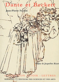 Jean-Pierre Ferrini - Dante et Beckett.