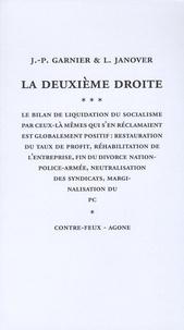 Jean-Pierre Garnier et Louis Janover - La deuxième droite.