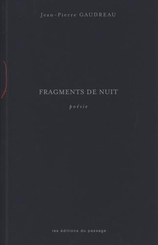 Fragments de nuit