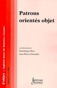 LOBJET VOLUME 5 N°2 1999 : PATRONS ORIENTES OBJET.pdf