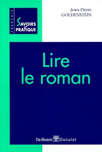 Jean-Pierre Goldenstein - Lire le roman.