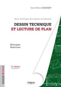 Jean-Pierre Gousset - Dessin technique et lecture de plan.