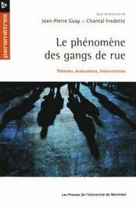 Jean-Pierre Guay et Chantal Fredette - Le phénomène des gangs de rues - Théories, évaluations, interventions.