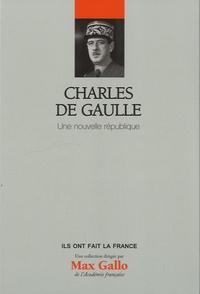 Deedr.fr Charles de Gaulle - Une nouvelle république Image