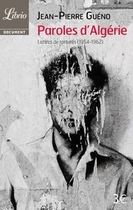 Deedr.fr Paroles d'Algérie - Lettres de torturés (1954-1962) Image