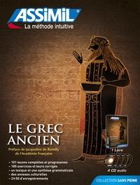 Jean-Pierre Guglielmi - Le grec ancien. 4 CD audio