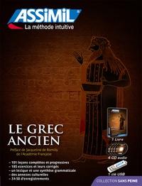Jean-Pierre Guglielmi - Le grec ancien - Superpack avec 1 livre, 4 CD audio. 1 Clé Usb