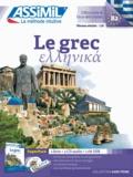 Jean-Pierre Guglielmi - Superpack Le grec - Contient 1 livre, 1 clé USB. 3 CD audio MP3